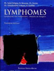 Lymphones, Lymphomes Non Hodgkiniens, Maladie De Hodgkin - Couverture - Format classique