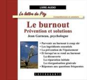 Le Burnout - Couverture - Format classique