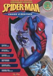 Spiderman ; cahier d'écriture ; 4 ans - Couverture - Format classique