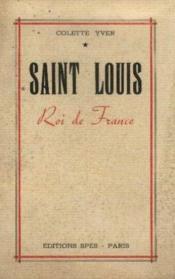 Saint louis -Roi de France - Couverture - Format classique