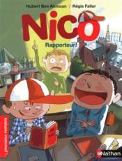 Nico rapporteur - Couverture - Format classique
