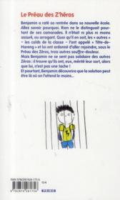 Le préau des z'héros - 4ème de couverture - Format classique