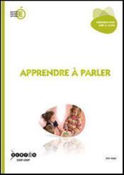 Apprendre A Parler - Couverture - Format classique