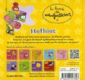 La Bande Des Minijusticiers T.9 ; Mathias - 4ème de couverture - Format classique