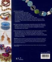Bijoux de perles ; guide complet des techniques de tissage - 4ème de couverture - Format classique