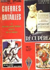 Guerres Et Batailles - Numero Special Hors Serie / N°10 - Couverture - Format classique