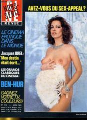 Cine Revue - Tele-Programmes - 58e Annee - N° 12a Hors-Serie - Avez-Vous Du Sex-Appeal ? - Couverture - Format classique