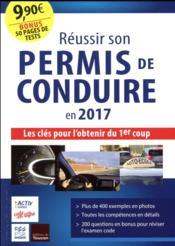 Réussir son permis de conduire en 2017 - Couverture - Format classique