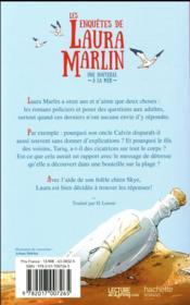 Les enquêtes de Laura Marlin T.1 ; une bouteille à la mer - 4ème de couverture - Format classique