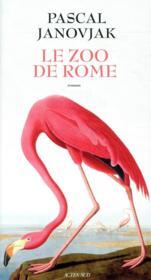 Le zoo de Rome - Couverture - Format classique