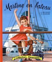 Martine en bateau - Couverture - Format classique