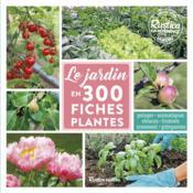 Le jardin en 300 fiches plantes - Couverture - Format classique
