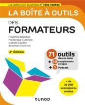 La boîte à outils ; des formateurs (4e édition) - Couverture - Format classique