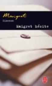 Maigret hesite - Couverture - Format classique
