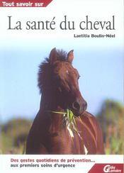 Tout savoir sur la sante du cheval - Intérieur - Format classique