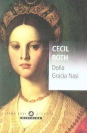 Dona gracia nasi - Couverture - Format classique