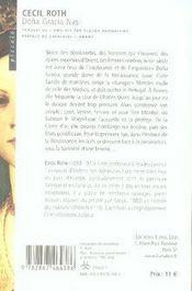 Dona gracia nasi - 4ème de couverture - Format classique