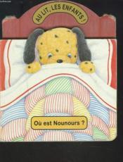 Au lit les enfants ou est nounours - Couverture - Format classique