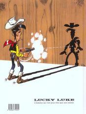 Lucky Luke t.35 ; Jesse James - 4ème de couverture - Format classique