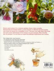Le jardin mois par mois ; tout ce qu'il faut faire et les gestes utiles de janvier à décembre - 4ème de couverture - Format classique