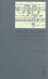 Flux, trace, temps, inconscient - Couverture - Format classique