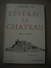 Histoire De Severac Le Chateau - Couverture - Format classique
