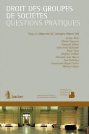 Droit des groupes de sociétés ; questions pratiques - Couverture - Format classique