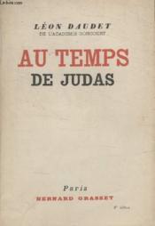 Au Temps De Judas. - Couverture - Format classique