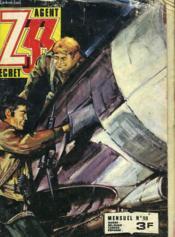 Z33 Agent Secret. Mensuel N°98 - Couverture - Format classique