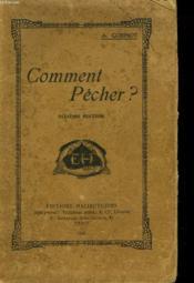 COMMENT PÊCHER? 2e EDITION. - Couverture - Format classique