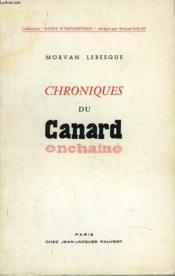 Chroniques Du Canard Enchaine - Couverture - Format classique
