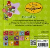 La bande des Minijusticiers T.13 ; Camille - 4ème de couverture - Format classique
