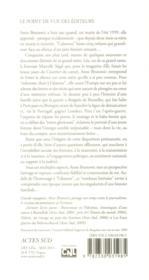 Voyages avec l'absente - 4ème de couverture - Format classique