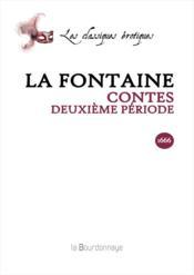 Contes - Deuxieme Periode - Couverture - Format classique
