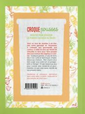 Croque pousses ; ou comment cuisiner les plantes cultivés dans son salon - 4ème de couverture - Format classique