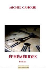 Éphémérides - Couverture - Format classique