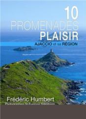 10 promenades plaisir ajaccio et sa region - Couverture - Format classique