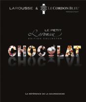 Petit Larousse du chocolat - Couverture - Format classique