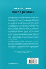 Balles perdues - 4ème de couverture - Format classique