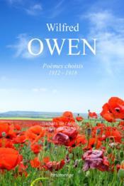 Wilfred Owen ; poèmes choisis (1912-1918) - Couverture - Format classique