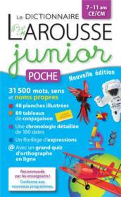 Le dictionnaire Larousse junior poche - Couverture - Format classique