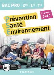 Prévention santé environnement (PSE) 2de, 1re, terminale bac pro ; pochette élève (édition 2020) - Couverture - Format classique