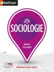 La sociologie (édition 2021) - Couverture - Format classique