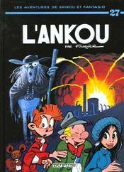 Les aventures de Spirou et Fantasio T.27 ; l'Ankou - Intérieur - Format classique