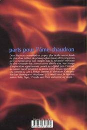 Parts pour l ame chaudron - 4ème de couverture - Format classique