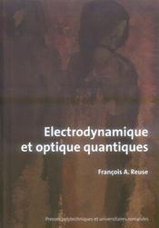 Électrodynamique et optique quantique - Intérieur - Format classique