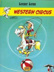 Lucky Luke T.36 ; western circus - Intérieur - Format classique