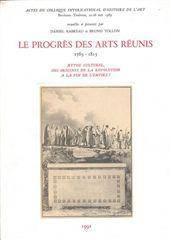 Progres Des Arts Reunis - Couverture - Format classique