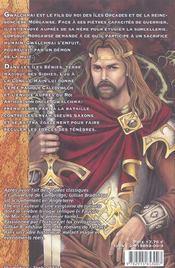 La légende arthurienne t.1 ; faucon de mai - 4ème de couverture - Format classique