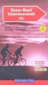Alsace-Bale ; carte de cycliste - Couverture - Format classique